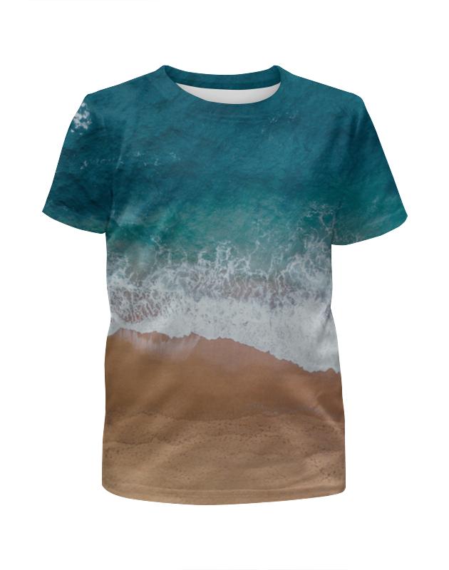 Футболка с полной запечаткой для девочек Printio пляж футболка с полной запечаткой для девочек printio joker