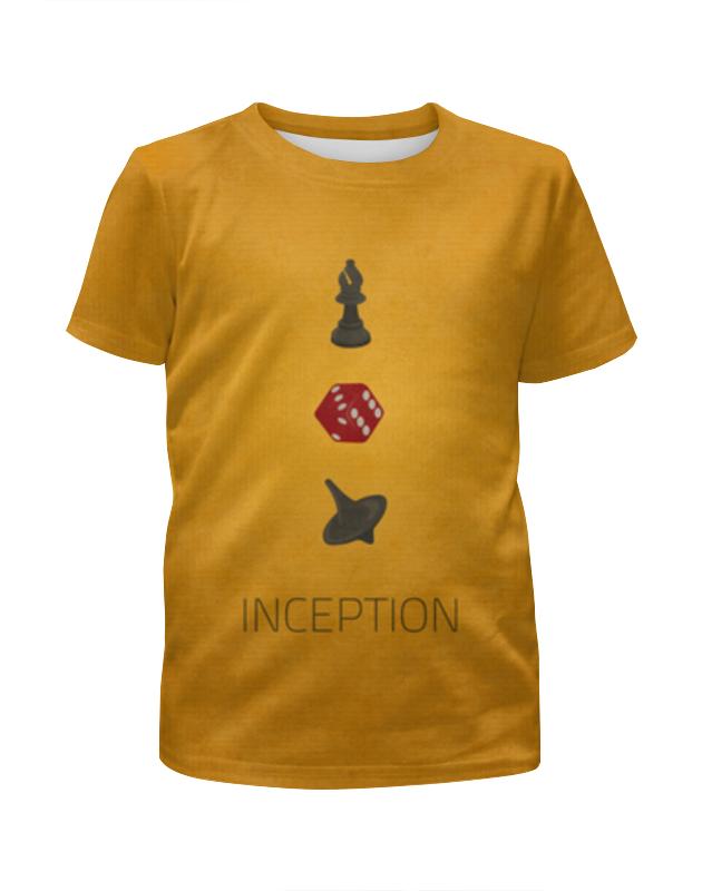 Футболка с полной запечаткой для девочек Printio Начало (inception)