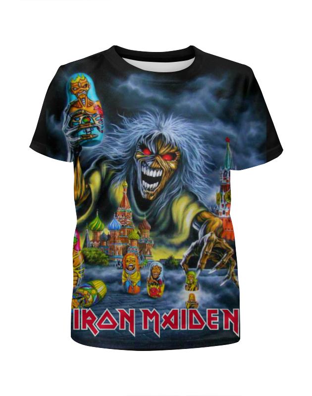 Футболка с полной запечаткой для девочек Printio Iron maiden band футболка iron maiden