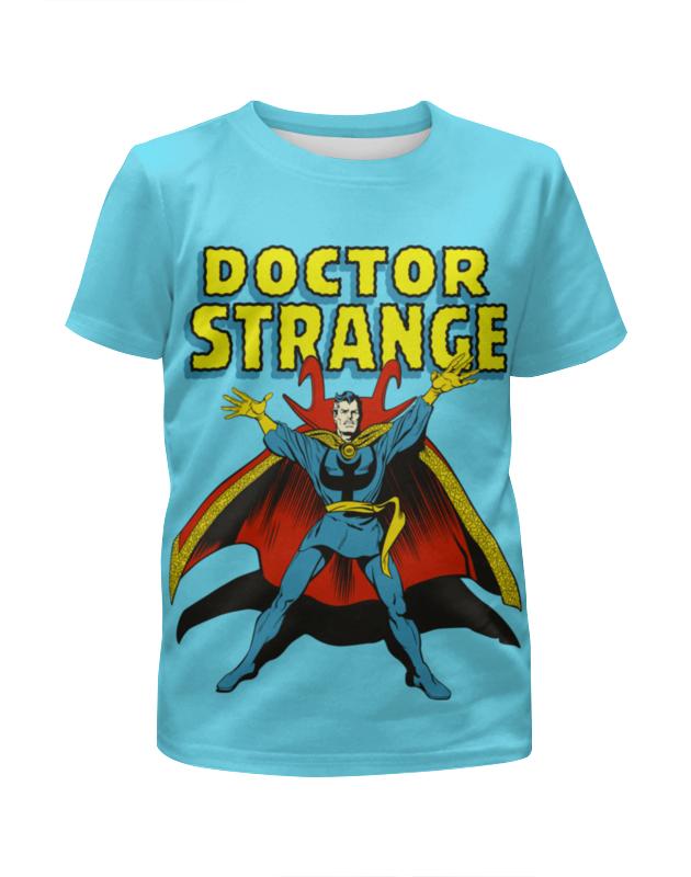 Футболка с полной запечаткой для девочек Printio Доктор стрэндж футболка с полной запечаткой для девочек printio доктор стрэндж