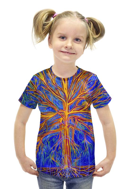 Футболка с полной запечаткой для девочек Printio Tree as it is футболка с полной запечаткой для девочек printio картина