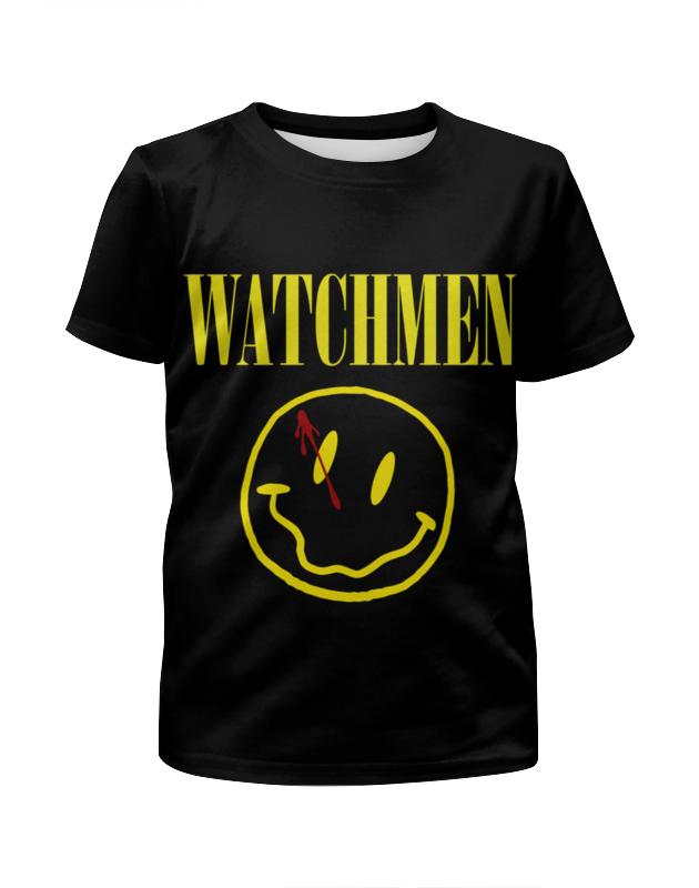 Футболка с полной запечаткой для девочек Printio Хранители (watchmen) футболка классическая printio хранители watchmen