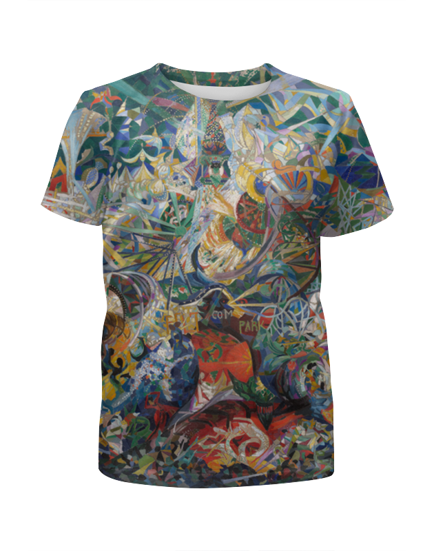 Printio Битва огней, кони-айленд (джозеф стелла) футболка с полной запечаткой мужская printio битва огней кони айленд джозеф стелла