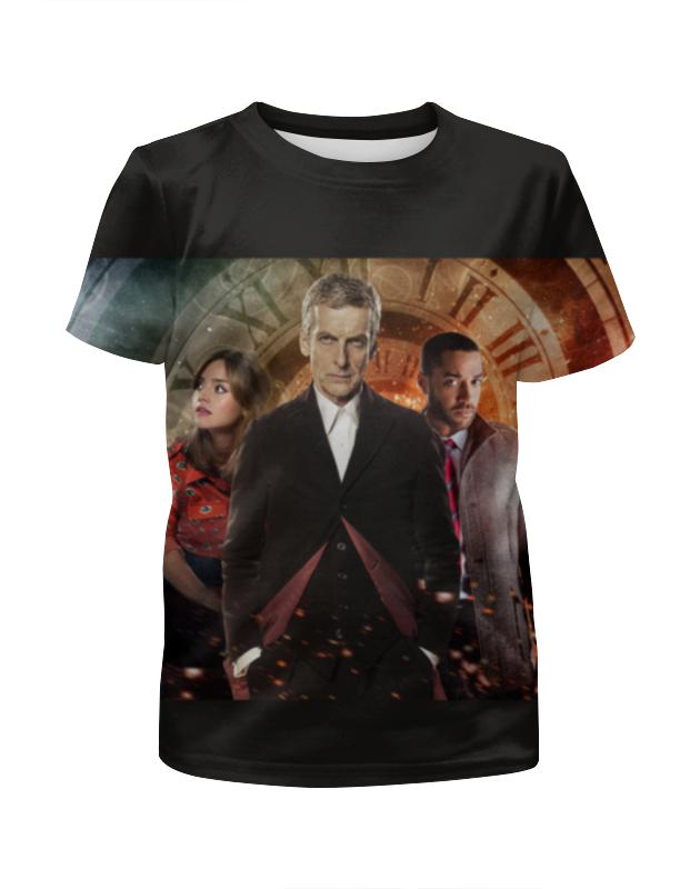 Футболка с полной запечаткой для девочек Printio Doctor who футболка рингер printio доктор кто doctor who