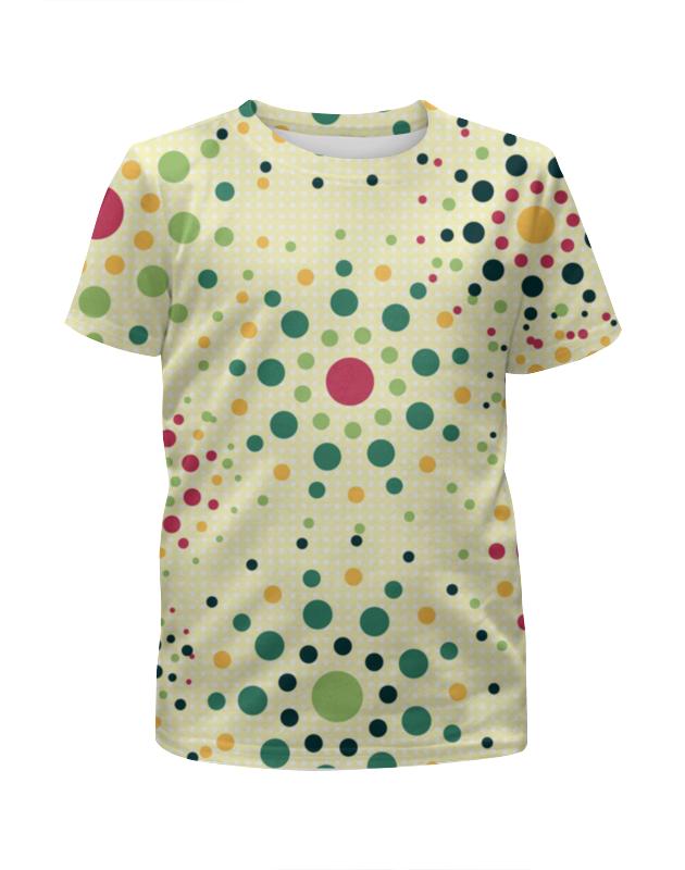 Футболка с полной запечаткой для девочек Printio Круговой орнамент футболка с полной запечаткой для девочек printio пртигр arsb