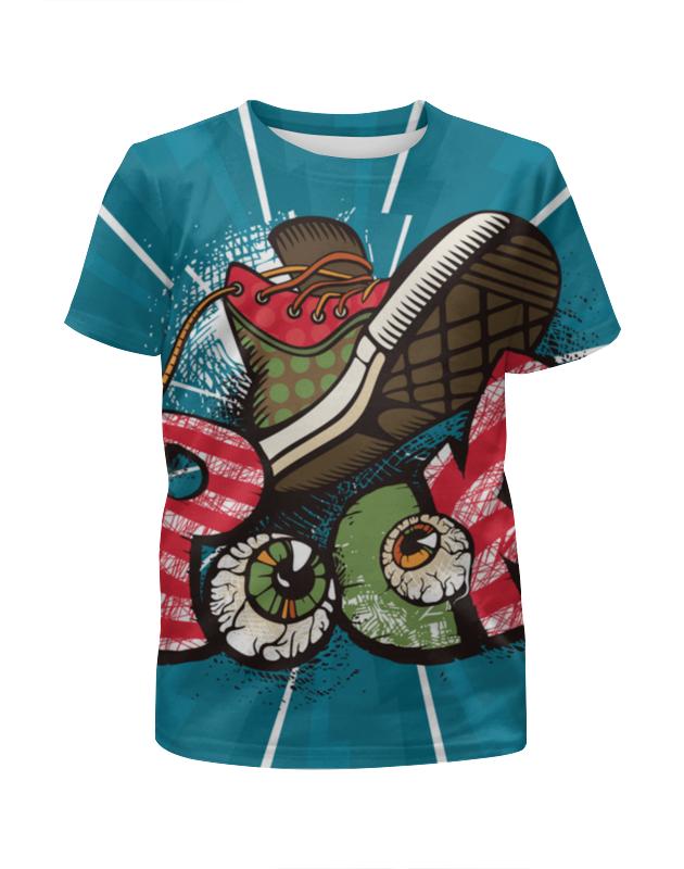 Printio Rock футболка с полной запечаткой для девочек printio hard rock