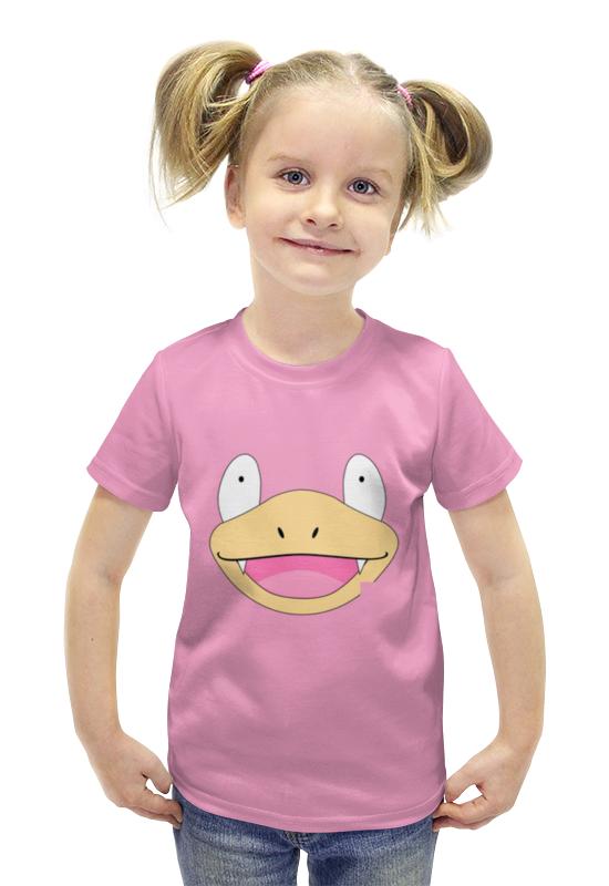 Футболка с полной запечаткой для девочек Printio Слоупок футболка с полной запечаткой для девочек printio пртигр arsb