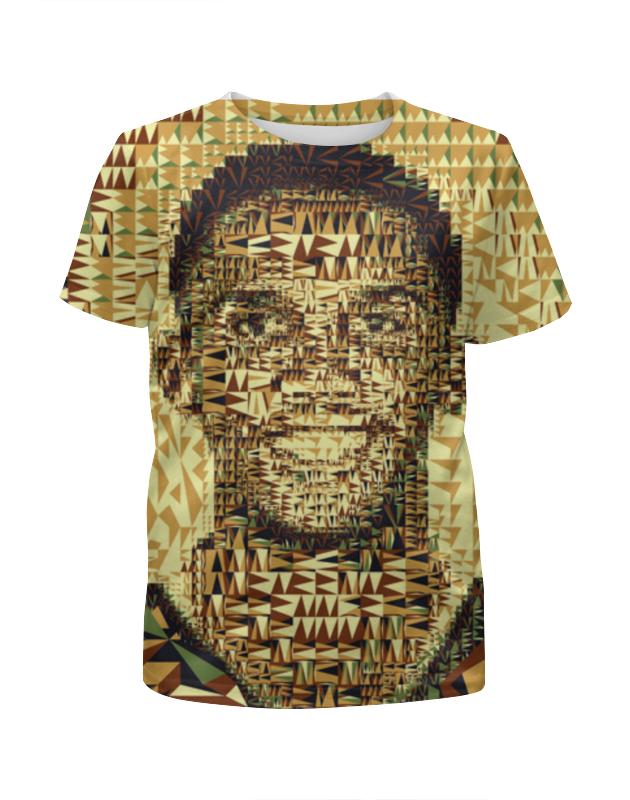 Футболка с полной запечаткой для девочек Printio Футбольная мозайка самуэль это'о футболка с полной запечаткой для девочек printio футбольная мозайка фернандо торрес