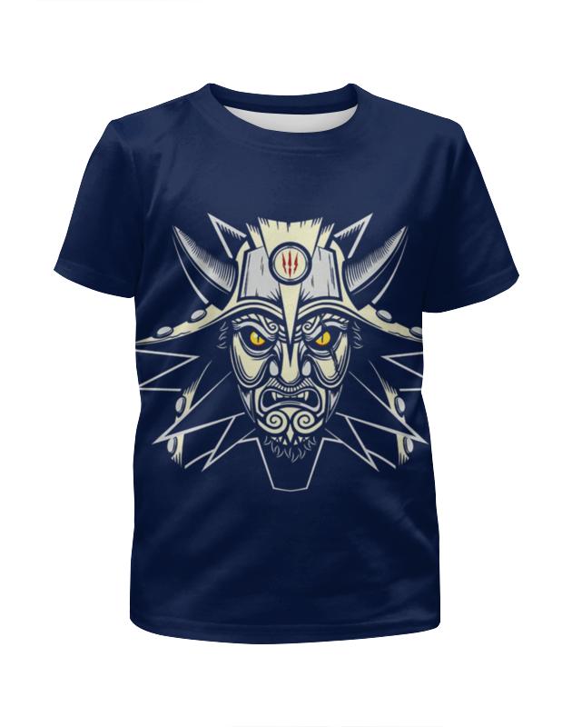 Футболка с полной запечаткой для девочек Printio Демон футболка с полной запечаткой для девочек printio mikhail vrubel демон сидящий