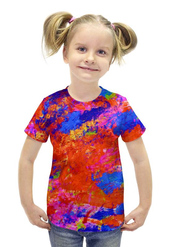 Футболка с полной запечаткой для девочек Printio Картина футболка с полной запечаткой для девочек printio картина