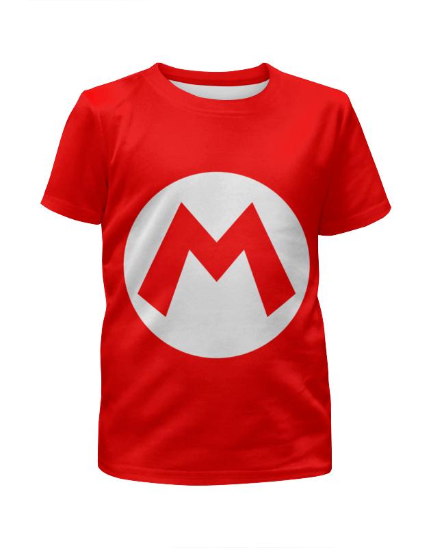 Футболка с полной запечаткой для девочек Printio Марио ( mario ) футболка с полной запечаткой для девочек printio марио и луиджи марио mario