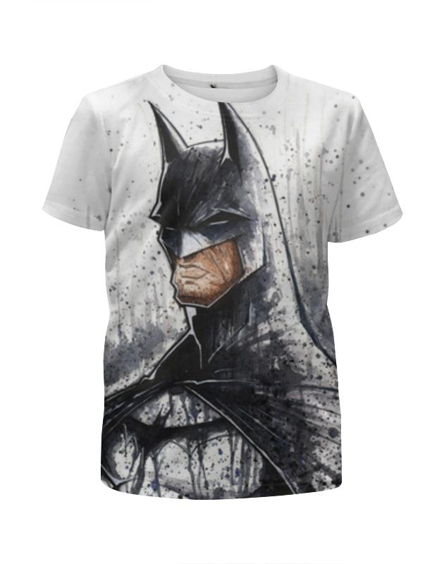 Футболка с полной запечаткой для девочек Printio Бэтмен (batman) футболка с полной запечаткой для девочек printio batman x joker бэтмен