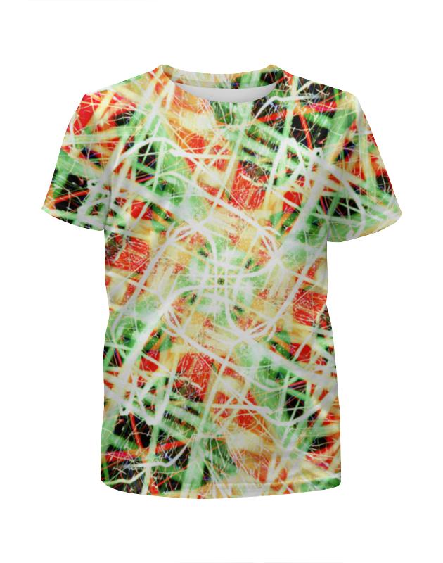 Футболка с полной запечаткой для девочек Printio Glitch art (пати) футболка с полной запечаткой для девочек printio glitch art круг в квадрате