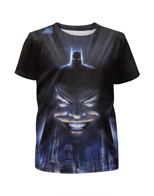 Футболка с полной запечаткой для девочек Printio Джокер / joker футболка с полной запечаткой для девочек printio joker dc comics