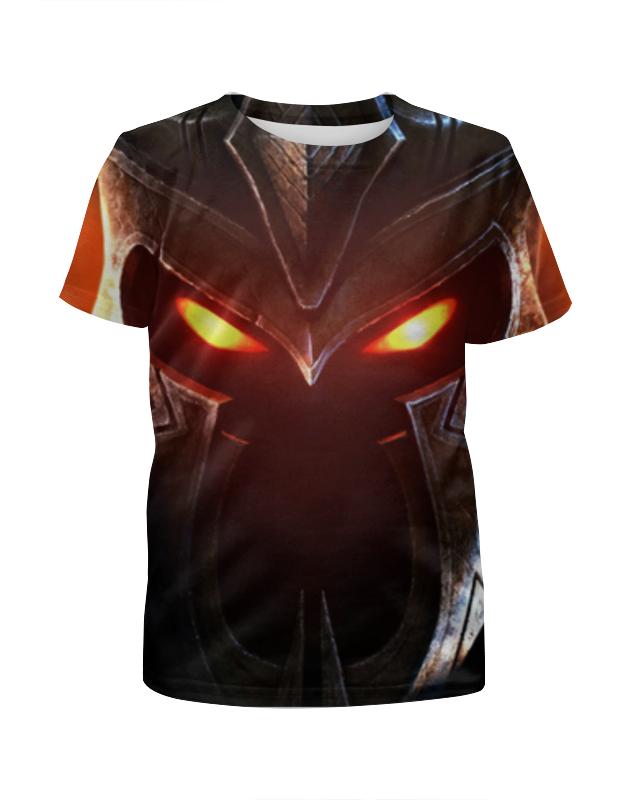 Футболка с полной запечаткой для девочек Printio Overlord футболка с полной запечаткой мужская printio overlord