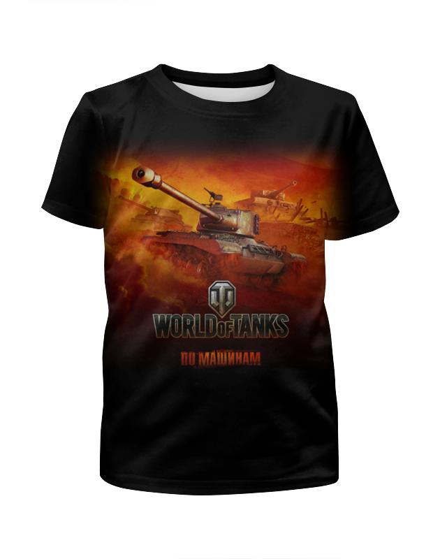 Футболка с полной запечаткой для девочек Printio World of tanks футболка стрэйч printio world of tanks