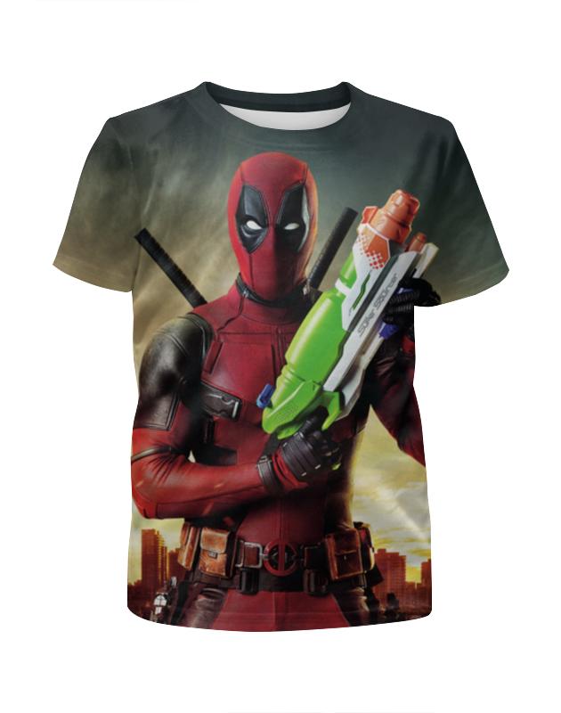 Футболка с полной запечаткой для девочек Printio Deadpool футболка с полной запечаткой для девочек printio deadpool