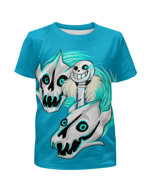 Printio Череп динозавра футболка с полной запечаткой для девочек printio череп с крыльями