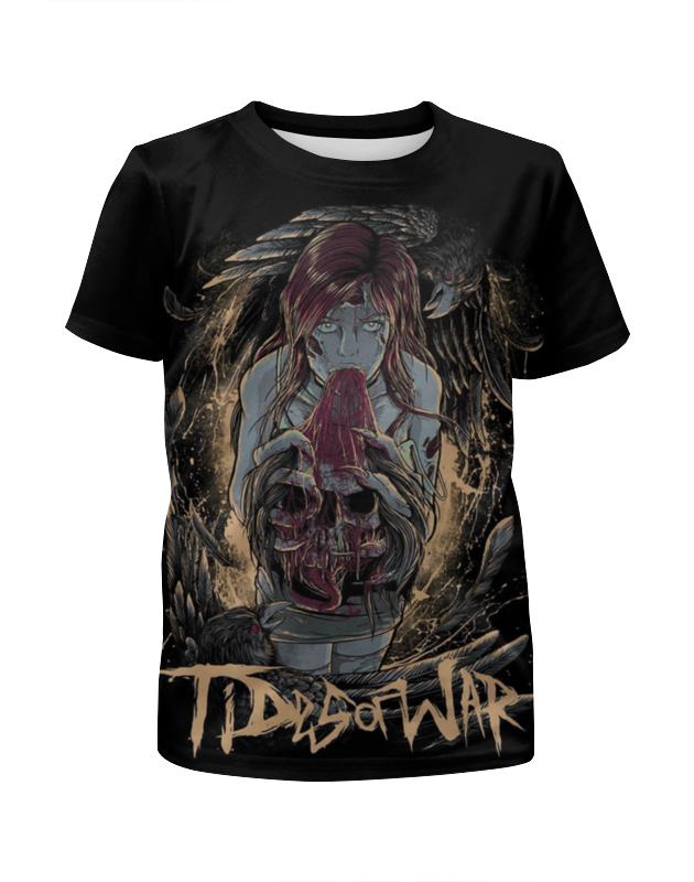 Футболка с полной запечаткой для девочек Printio Tides of war футболка с полной запечаткой для мальчиков printio tides of war