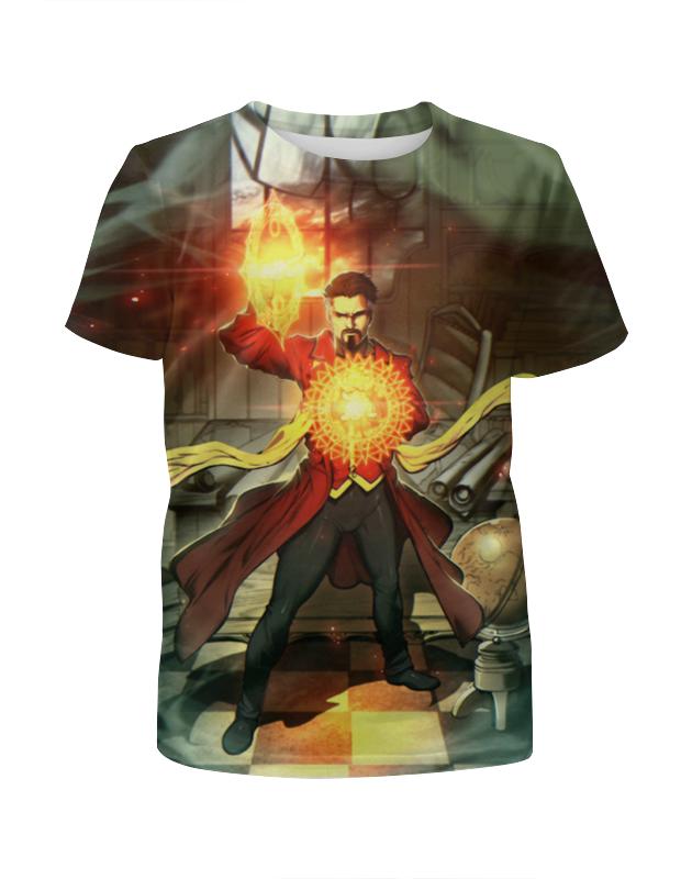 Футболка с полной запечаткой для девочек Printio Doctor strange футболка с полной запечаткой для девочек printio пртигр arsb