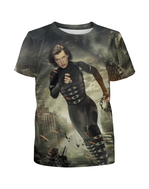 Футболка с полной запечаткой для девочек Printio Resident evil футболка с полной запечаткой для девочек printio resident evil
