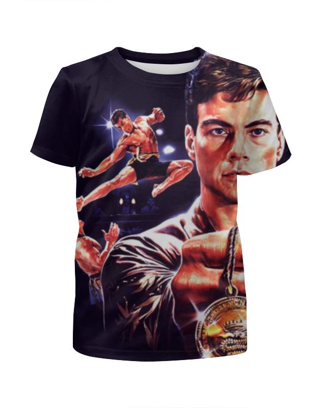 Футболка с полной запечаткой для девочек Printio Кровавый спорт (bloodsport) футболка с полной запечаткой для девочек printio жан рено леон