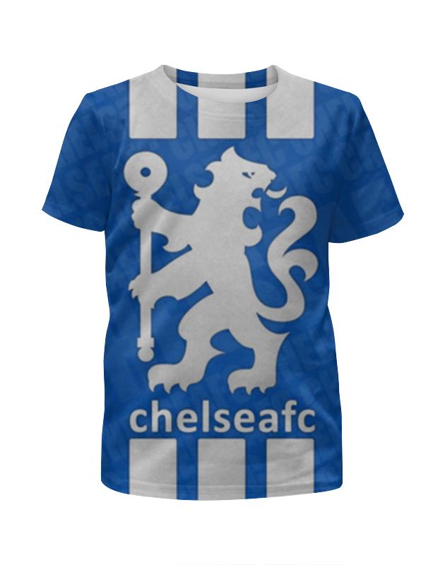 Футболка с полной запечаткой для девочек Printio Chelsea (челси) майка классическая printio челси