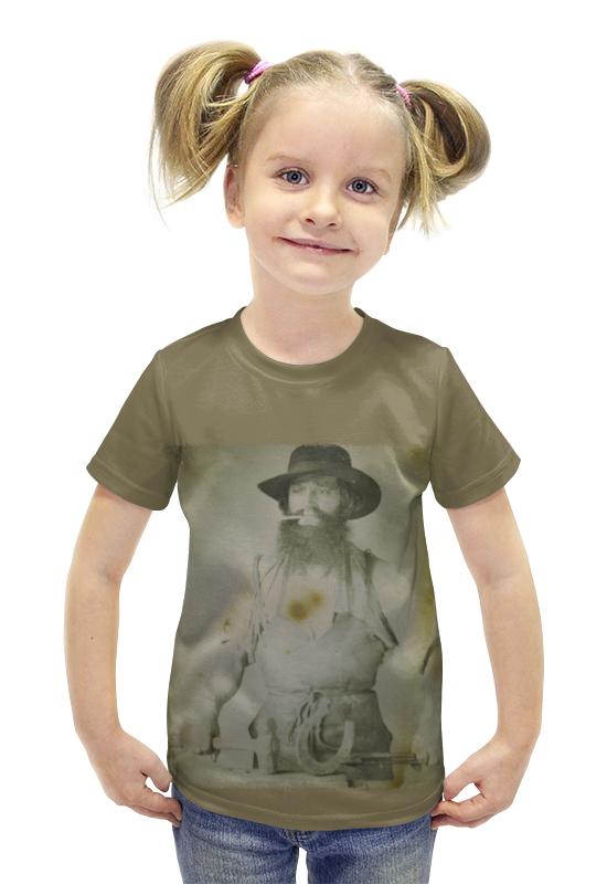 Футболка с полной запечаткой для девочек Printio Кузнец футболка с полной запечаткой для девочек printio spawn