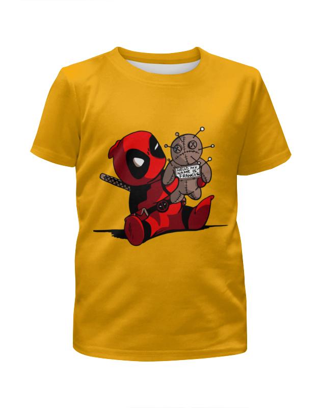 Фото - Футболка с полной запечаткой для девочек Printio Дэдпул ( deadpool ) футболка с полной запечаткой для девочек printio deadpool when in rome
