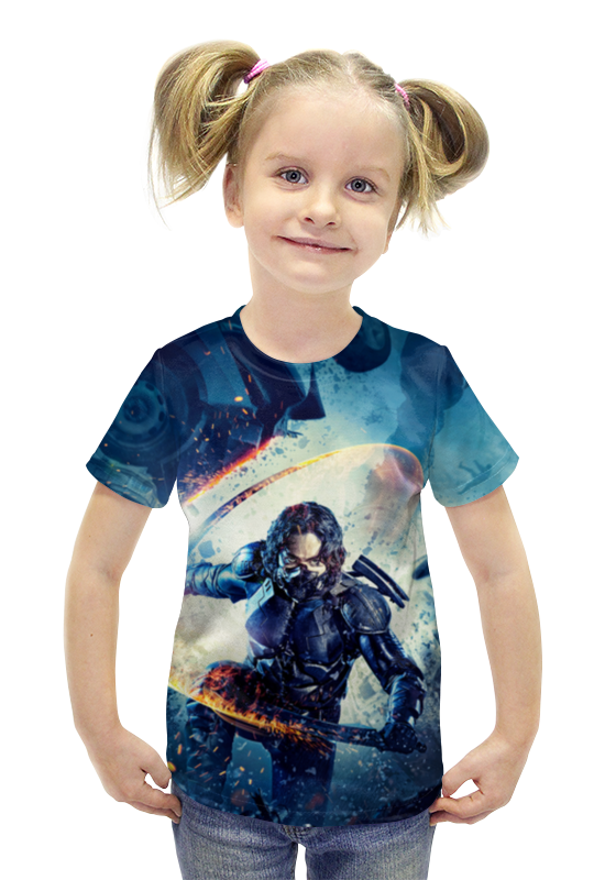 Футболка с полной запечаткой для девочек Printio Rushero arsb футболка с полной запечаткой для мальчиков printio пртигр arsb