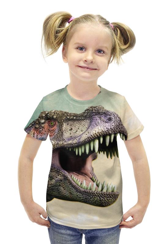 Футболка с полной запечаткой для девочек Printio Тиранозавр футболка с полной запечаткой для девочек printio spawn
