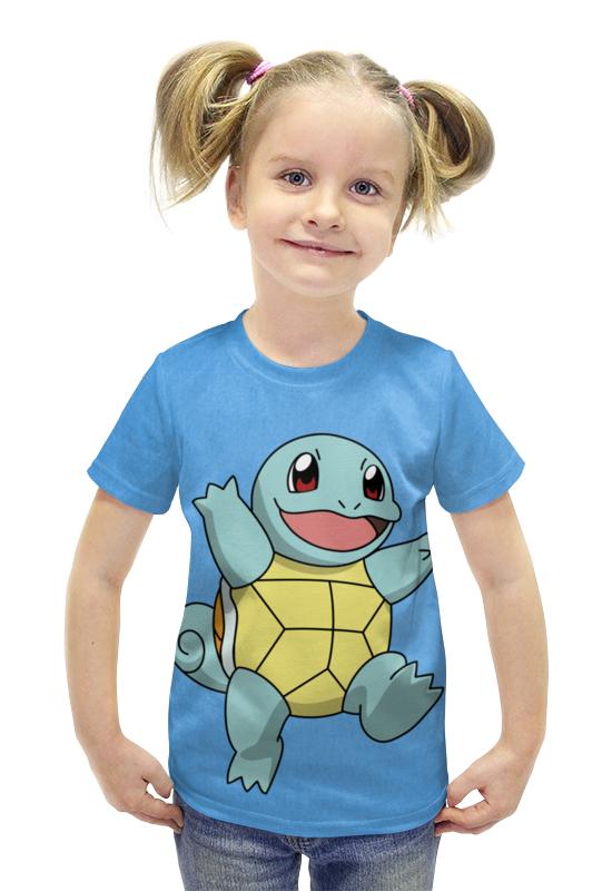 Футболка с полной запечаткой для девочек Printio Сквиртл футболка с полной запечаткой для девочек printio spawn