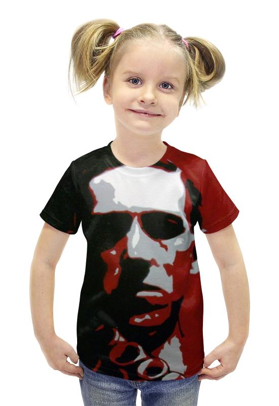 Футболка с полной запечаткой для девочек Printio Лавкрафт ( lovecraft ) футболка с полной запечаткой printio лавкрафт lovecraft