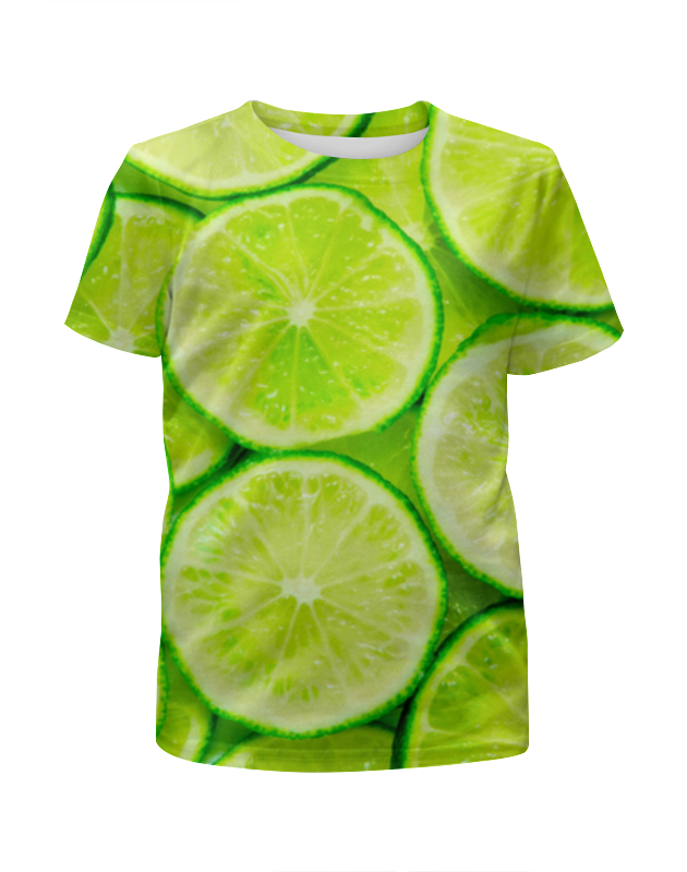 Футболка с полной запечаткой для девочек Printio Цитрус футболка с полной запечаткой для девочек printio волгоградская область