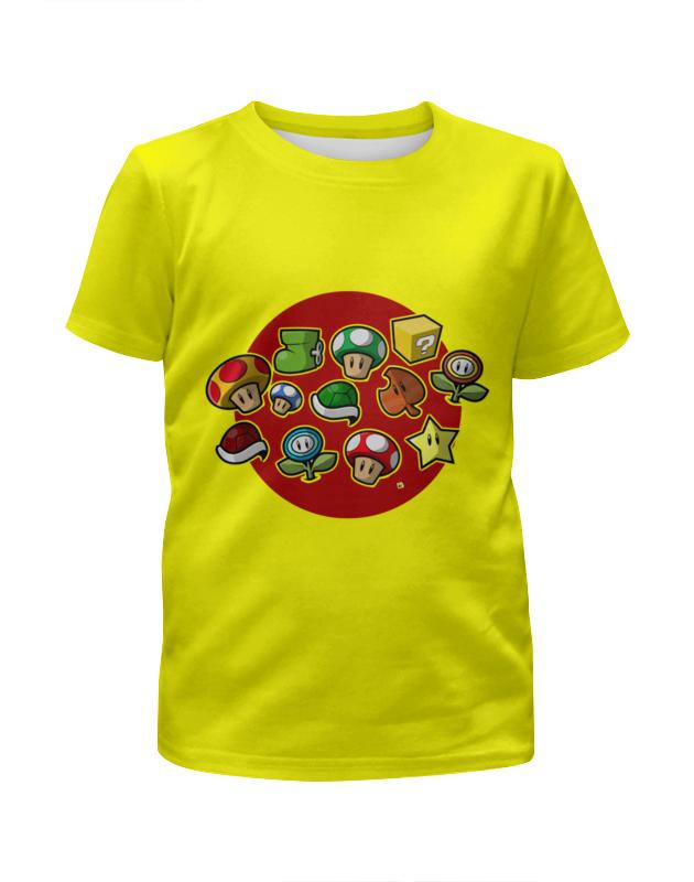 Футболка с полной запечаткой для девочек Printio Марио ( mario ) футболка с полной запечаткой мужская printio марио mario