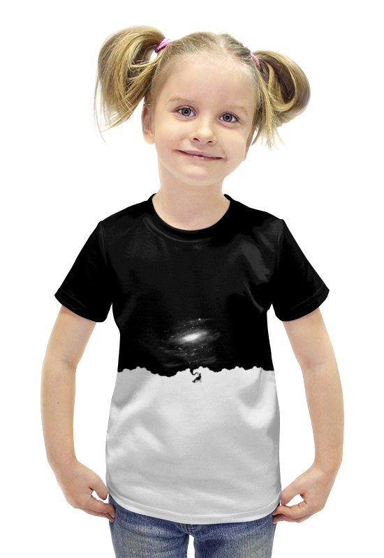 Футболка с полной запечаткой для девочек Printio Space футболка с полной запечаткой для девочек printio пртигр arsb