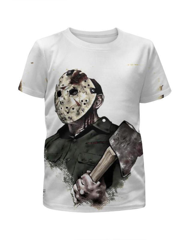 Футболка с полной запечаткой для девочек Printio Джейсон футболка с полной запечаткой для девочек printio джейсон