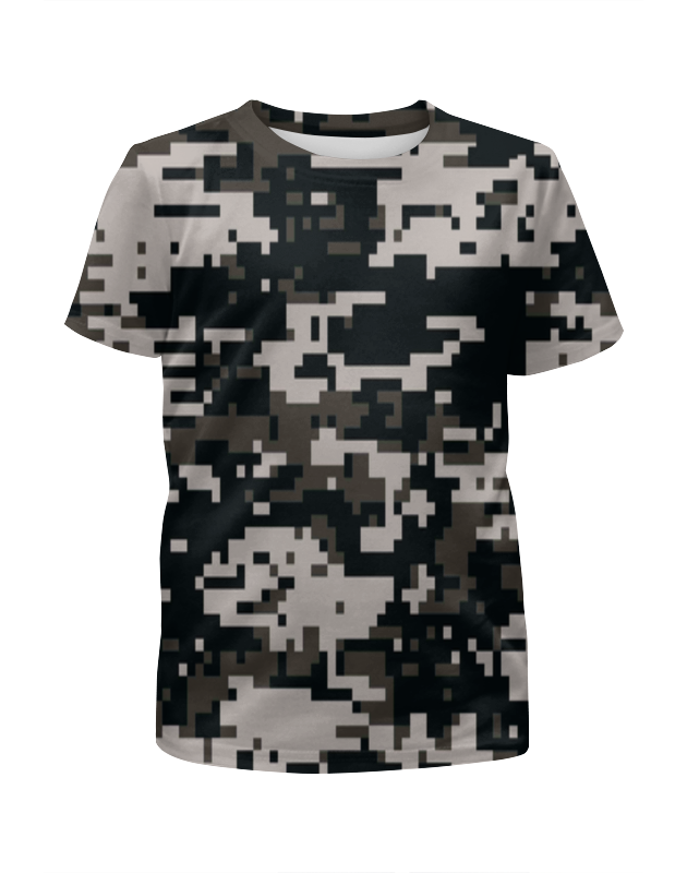 Футболка с полной запечаткой для девочек Printio Городской камуфляж футболка с полной запечаткой для девочек printio пртигр arsb