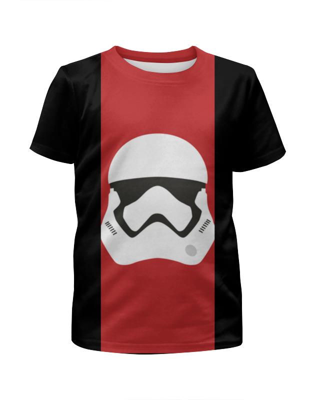 Футболка с полной запечаткой для девочек Printio Star wars stormrooper/звездные войны штурмовик футболка стрэйч printio штурмовик звездные войны