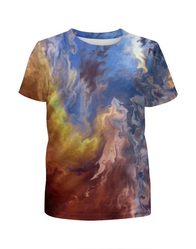 Футболка с полной запечаткой для девочек Printio Абстракция футболка с полной запечаткой для девочек printio жидкие краски