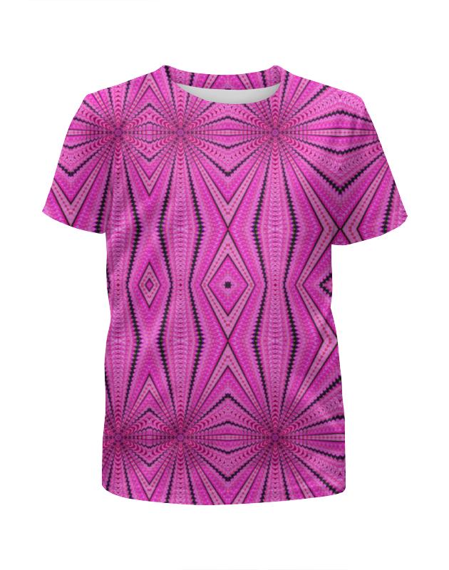 Футболка с полной запечаткой для девочек Printio Glitch art (борщ со сметанкой) футболка с полной запечаткой для девочек printio glitch art круг в квадрате