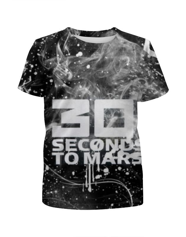 Футболка с полной запечаткой для девочек Printio 30 seconds to mars футболка print bar 30 seconds to mars triad