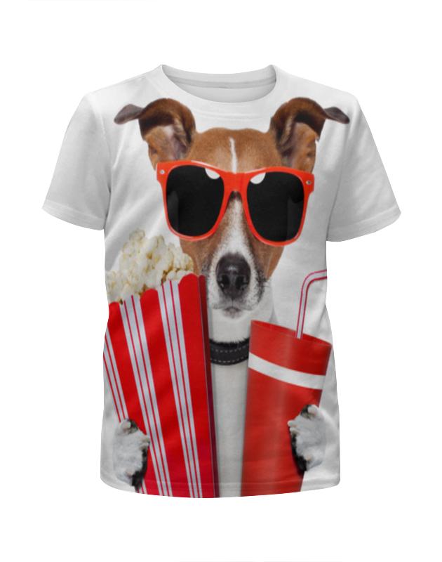 Футболка с полной запечаткой для девочек Printio Песик футболка с полной запечаткой для мальчиков printio песик