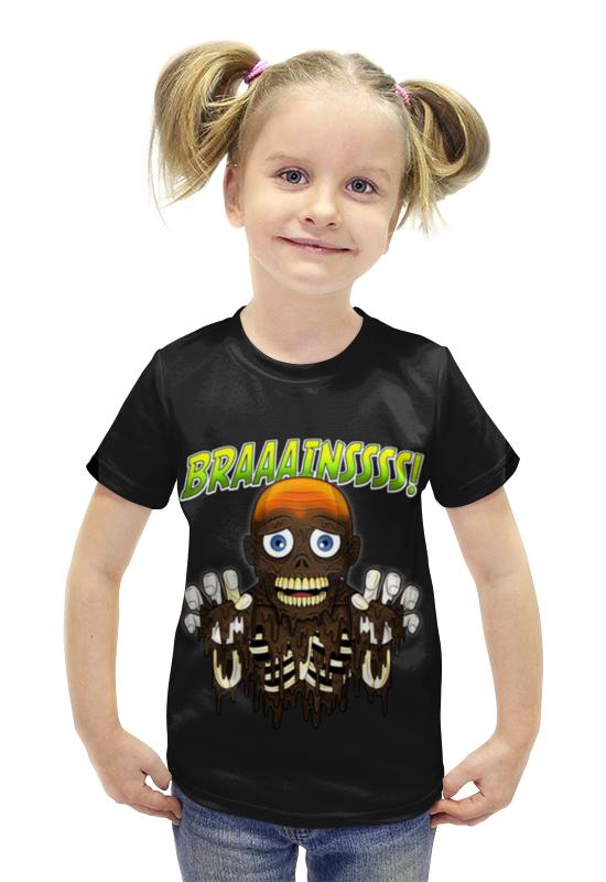 Футболка с полной запечаткой для девочек Printio Braaaaatnsssss! футболка с полной запечаткой для девочек printio пртигр arsb