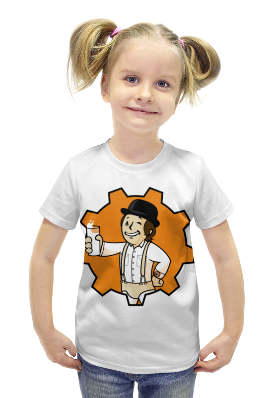 Футболка с полной запечаткой для девочек Printio Фоллаут ( fallout ) футболка с полной запечаткой для девочек printio fallout