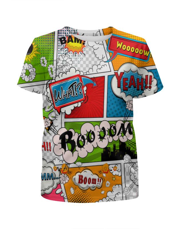 Футболка с полной запечаткой для девочек Printio Pop art still футболка print bar still rocking