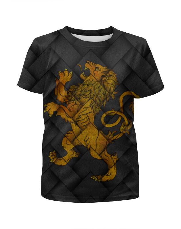Футболка с полной запечаткой для девочек Printio Игра престолов!!! футболка wearcraft premium printio игра престолов