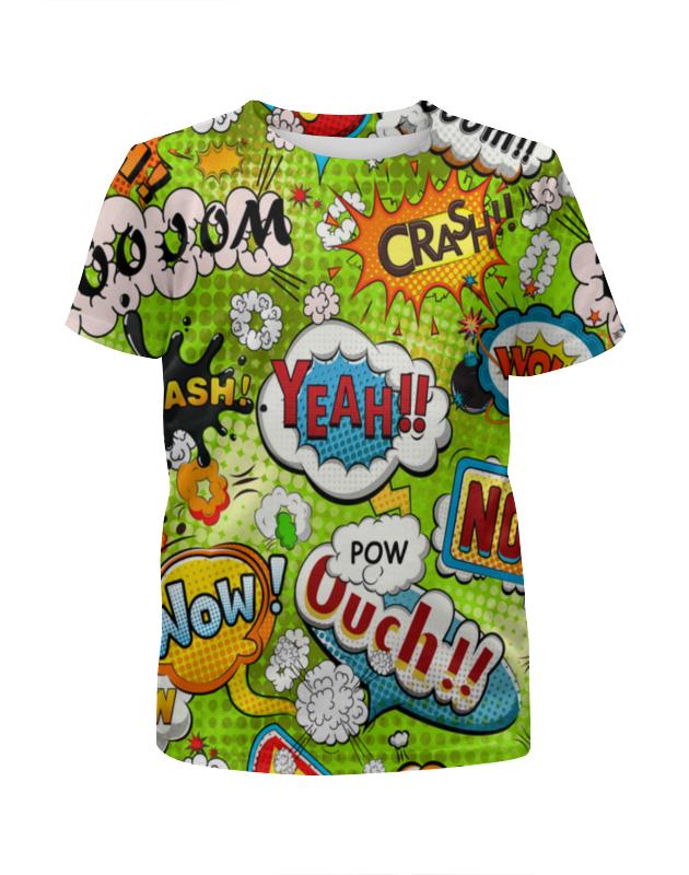 Футболка с полной запечаткой для девочек Printio Поп арт футболка с полной запечаткой для девочек printio bats spawn arsb