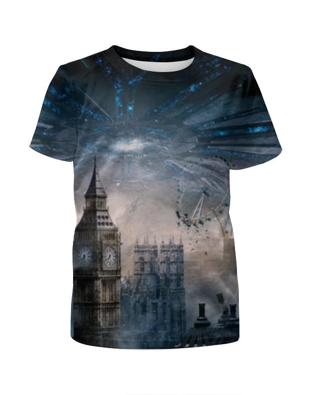 Футболка с полной запечаткой для девочек Printio Лондон футболка с полной запечаткой для девочек printio вечерний лондон