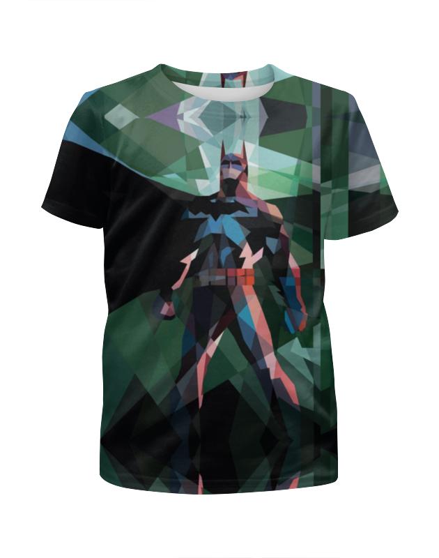 Футболка с полной запечаткой для девочек Printio Бэтмен футболка с полной запечаткой для девочек printio мышь и сыр
